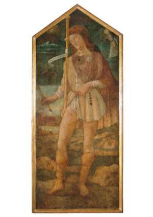 Friends Of Florence Facilitates Restoration of Painting Of Saint Roch By Bartolomeo Della Gatta In Horne Museum