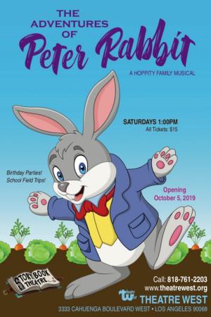 THE ADVENTURES OF PETER RABBIT Opens Oct. 5 At Theatre West