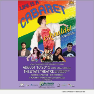 Arnaldo! Heads Talented Cast In LIFE IS A CABARET On August 10 In Virginia