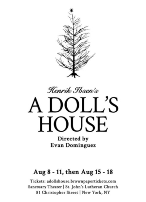 Sanctuary Theatre Company Announces Ibsen's A DOLL'S HOUSE