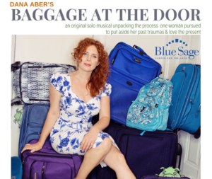 Dana Aber's BAGGAGE AT THE DOOR Performs At Blue Sage Center For Arts