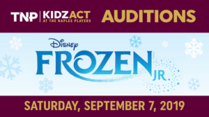 The Naples Players Kidzact Announce Auditions For FROZEN JR.