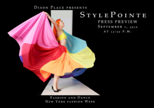 STYLEPOINTE 2019 - Fashion Meets Movement During NY Fashion Week This Fall