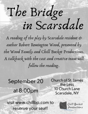 Local Theatre Co Memorializes Robert Remington Wood With Theatrical Reading Of THE BRIDGE IN SCARSDALE