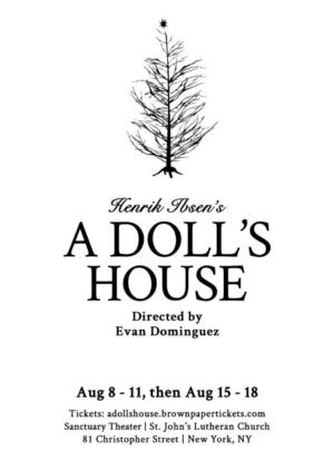Sanctuary Theatre Company Presents A DOLL'S HOUSE