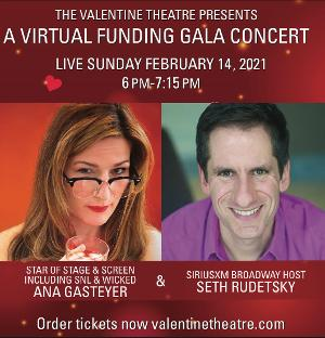 Valentine Theater Celebrates 125th Anniversary Gala Live With Seth Rudetsky and Ana Gasteyer