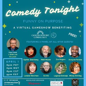 FUNNY ON PURPOSE April Fools' Comedy Show Announced
