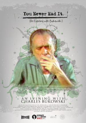 CHARLES BUKOWSKI Documentary Producer, Silvia Bizio, Up Next On Tom Needham's SOUNDS OF FILM