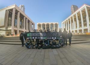 The Metropolitan Opera Orchestra Stands In Solidarity With IATSE Local 1 Stagehands