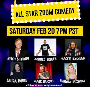 All Star Virtual Comedy ALS Fundraiser Announced Next Weekend