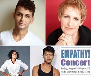 Elliott Masie and Telly Leung Host EMPATHY CONCERT Featuring Michael Longoria, Liz Callaway and Melinda Doolittle