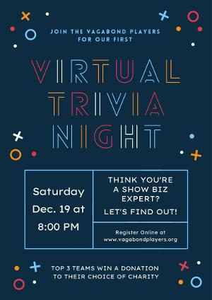 Vagabond Players Hosts Show Biz Virtual Trivia