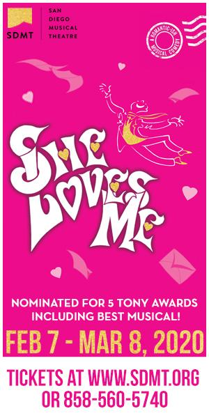 San Diego Musical Theatre Presents SHE LOVES ME