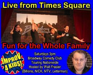 Improv 4 Kids Is Back In Times Square April 2021