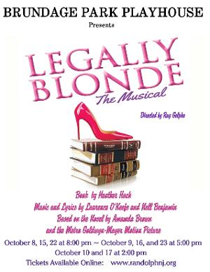 Brundage Park Playhouse to Present LEGALLY BLONDE: THE MUSICAL