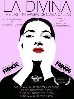 LA DIVINA: THE LAST INTERVIEW OF MARIA CALLAS Begins Next Month at Hudson Guild Theatre