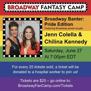 Jenn Colella & Chilina Kennedy Announced for BROADWAY BANTER: PRIDE EDITION