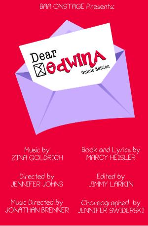 Broadway Artists Alliance Launches Virtual Musical Program, BAAOnstage And Presents DEAR EDWINA Online Edition