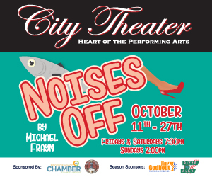 NOISES OFF Comes to City Theater