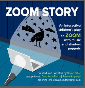 ZOOM STORY Interactive Children's Play Comes to Zoom With Music and Shadow Puppets