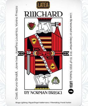 Teatro Latea Presents RIIICHARD