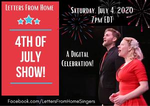 Digital 4th Of July Concert By Letters From Home Will Feature Singing From All 50 States