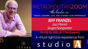 MetropolitanZoom Presents Jeff Franzel in Concert