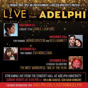 Adelphi Announces Live Concert Series