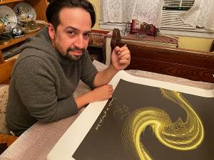 Lin-Manuel Miranda Launches New Soundwaves Art Collection To Raise Money For NoMAA Artist-in-Residency Program