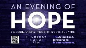 Ann Harada, Shanice Williams, Kerstin Anderson and More Join AN EVENING OF HOPE Virtual Cabaret Fundraiser For The Actors Fund