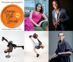 The McKnight Center Unveils June Artists Series ORANGE PLATE SPECIAL