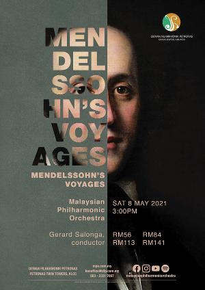 Mendelssohn's VOYAGES Will Be Performed By The Malaysian Philharmonic Orchestra This Weekend