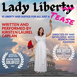 LADY LIBERTEASE Will Be Performed at Broadwater Black Box Next Week