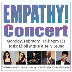 Mandy Gonzalez and Telly Leung to Perform in 27th Empathy Concert
