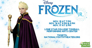 National Youth Theater Presents Disney's FROZEN JR.