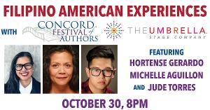 The Umbrella Stage Company to Present Special Program Exploring the Filipino American Experience