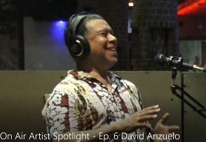 On Air Artist Spotlight Features David Anzuelo