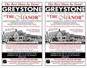 THE MANOR: MURDER AND MADNESS AT GREYSTONE Murder Returns February 6