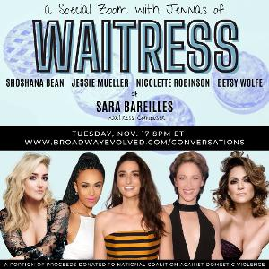 Sara Bareilles, Shoshana Bean, Jessie Mueller, Nicolette Robinson and Betsy Wolfe Come Together for NCADV & BroadwayEvolved