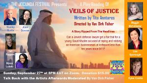 Stanley Martin and Tait Ruppert Star In The Jocunda Festival's Virtual Play Reading Of VEILS OF JUSTICE