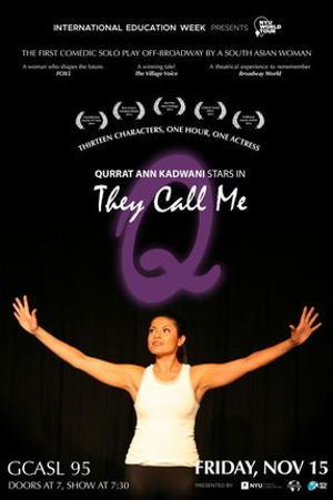 NYU To Present Award-Winning Solo Play THEY CALL ME Q