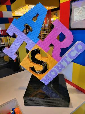 Legoland Unveils Arts Montco Lego Sculpture