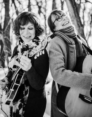 Jazz-Folk Sister Singer/Songwriters CAMERON & CRAWFORD Release 'This Time, This Place'
