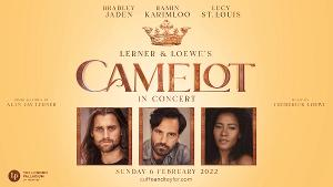 Ramin Karimloo,  Lucy St. Louis, and Bradley Jaden Will Lead CAMELOT IN CONCERT at the London Palladium