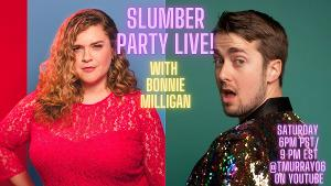 Diana Degarmo, Bonnie Milligan, Ben Fankhauser and More Join SLUMBER PARTY LIVE!