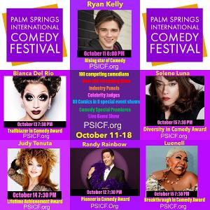Palm Springs International Comedy Festival Launches Virtually
