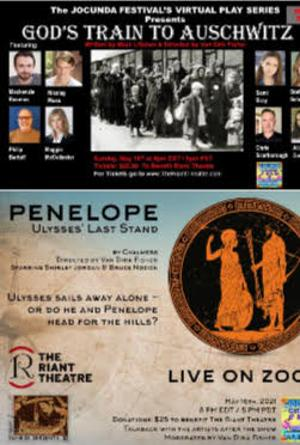 The Jocunda Festival Presents A Performance Of GOD'S TRAIN TO AUSCHWITZ And PENELOPE