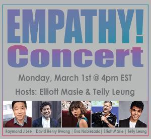 David Henry Hwang, Eva Noblezada Join Asian- American Focused EMPATHY CONCERT