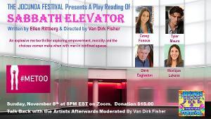 Ellen Pober Rittberg's Me Too Thriller SABBATH ELEVATOR Takes Flight In The JOCUNDA FESTIVAL'S Virtual Play Reading