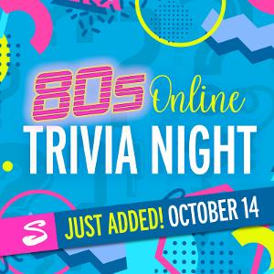 State Theatre New Jersey Presents '80s Online Trivia Night